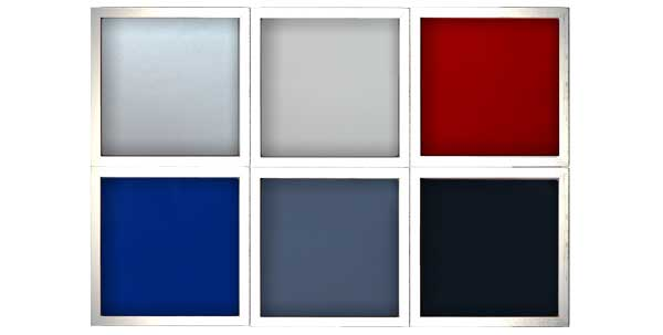 6色すべてのバックパネル